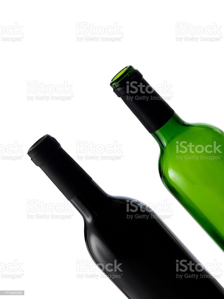 Zwei Flaschen Lizenzfreies stock-foto