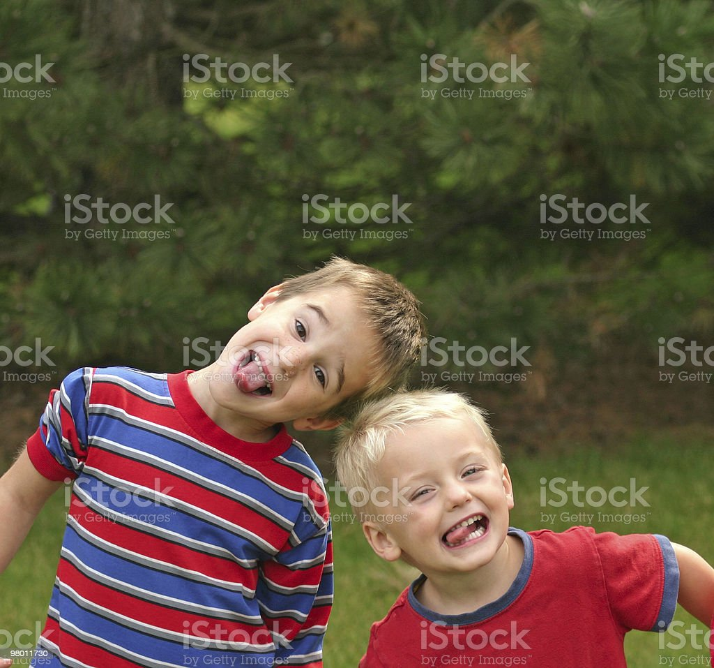 Two Boys royalty-free stock photo