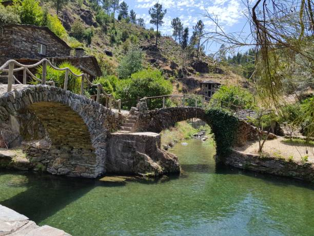 Two Bridges - fotografia de stock