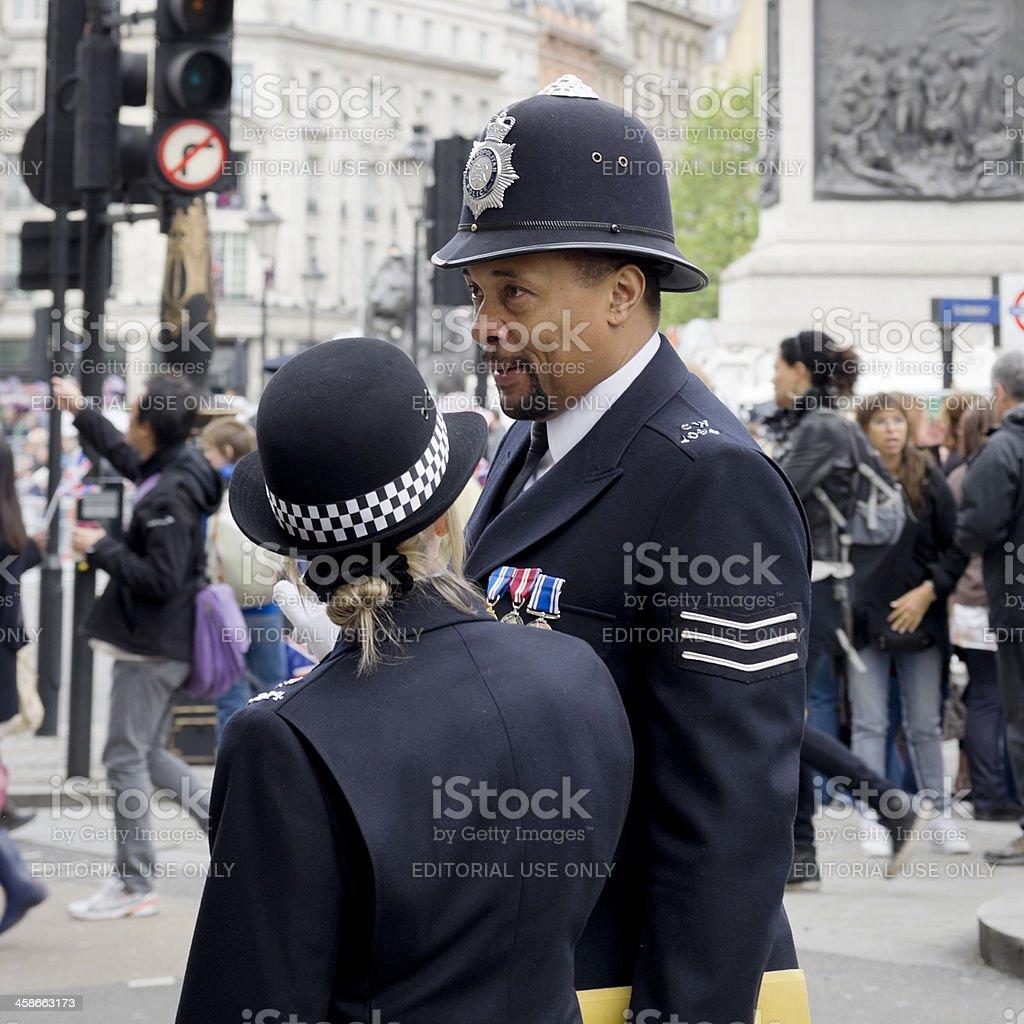 Two British Bobbies Stock Photo - Download Image Now - iStock