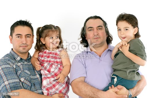 istock two brothers and their children 104690757