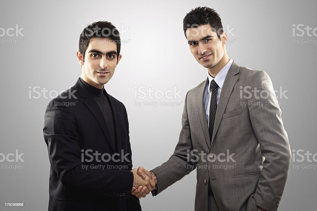 Two Businessman Agreement royalty-free stock photo