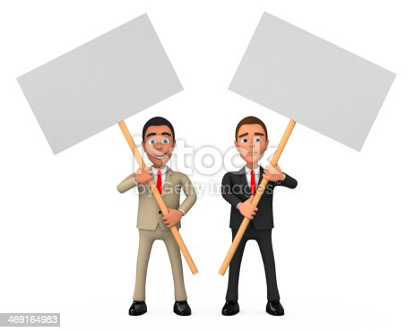 istock two businessman posters 469164983