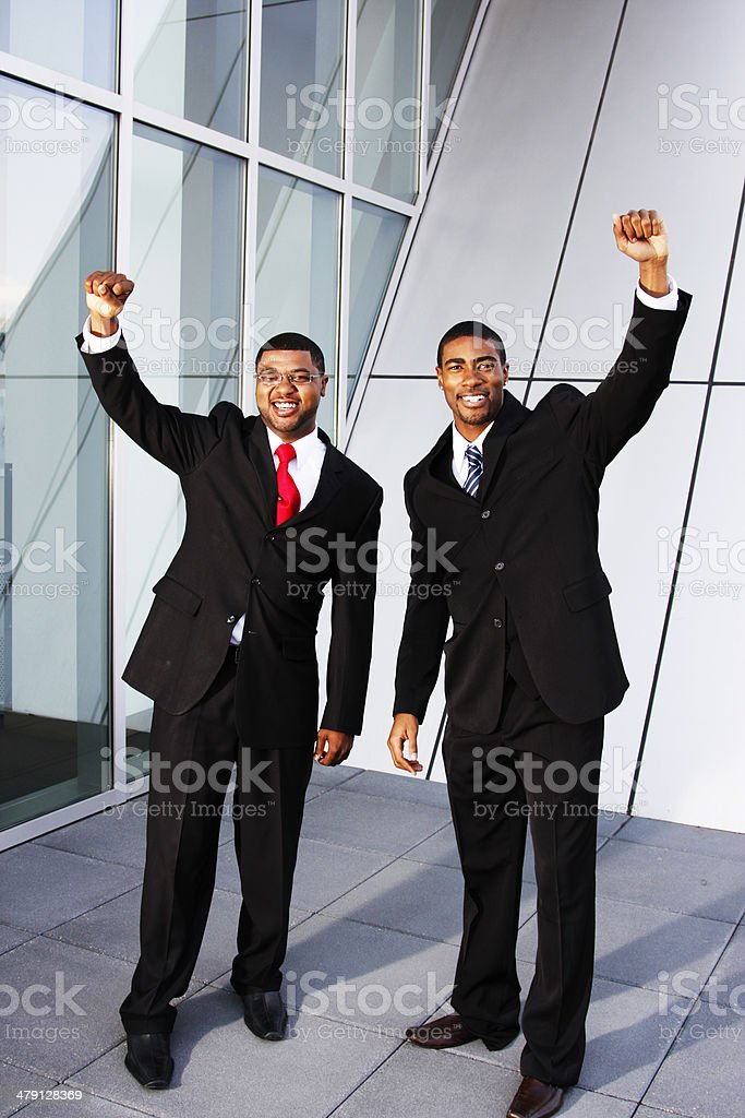Two Businessmen royalty-free stock photo