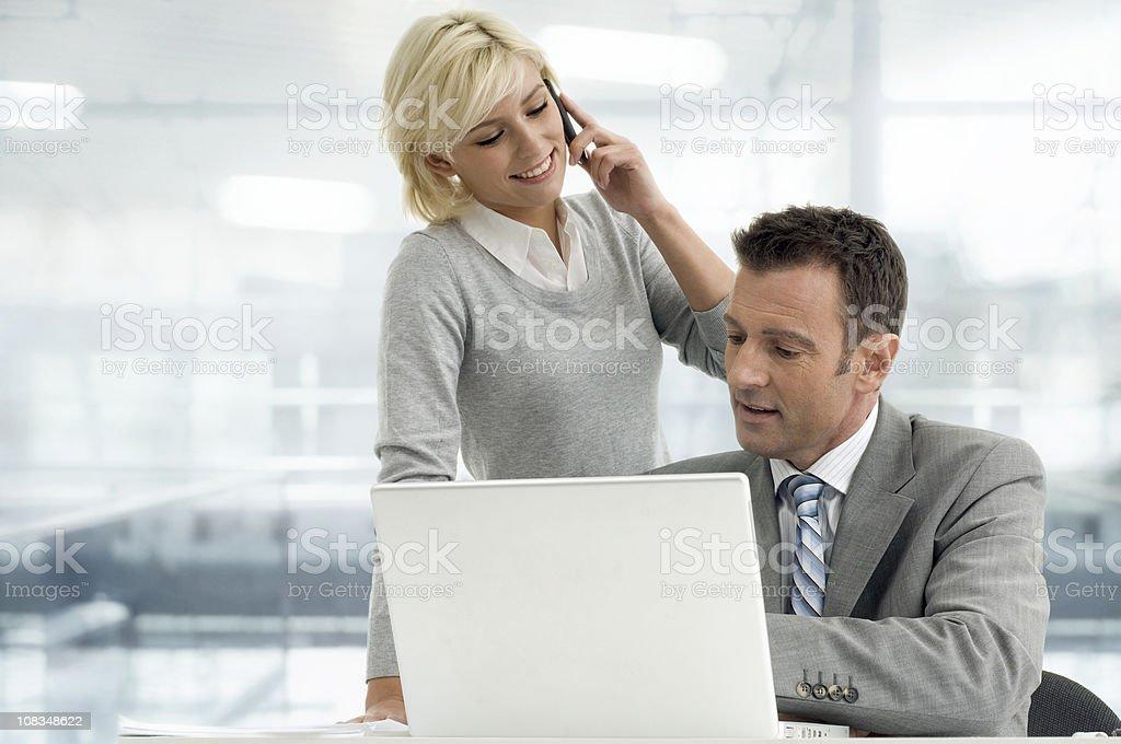 Zwei Geschäftsleute – Foto