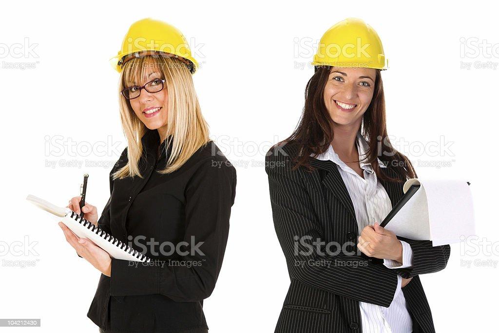 two businesswoman royalty-free stock photo