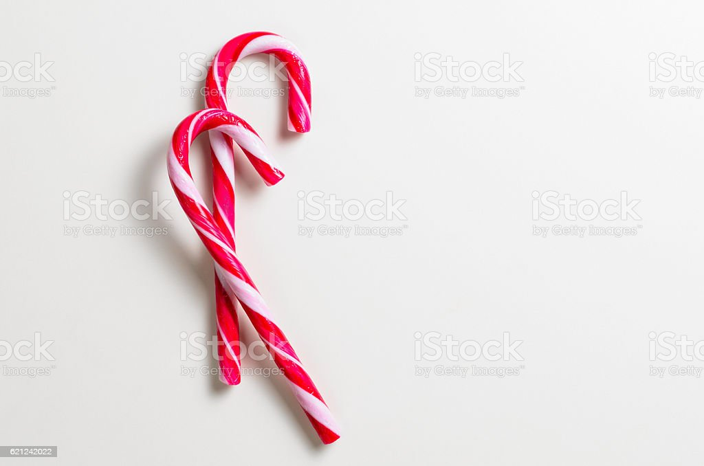 two candy cones stock photo