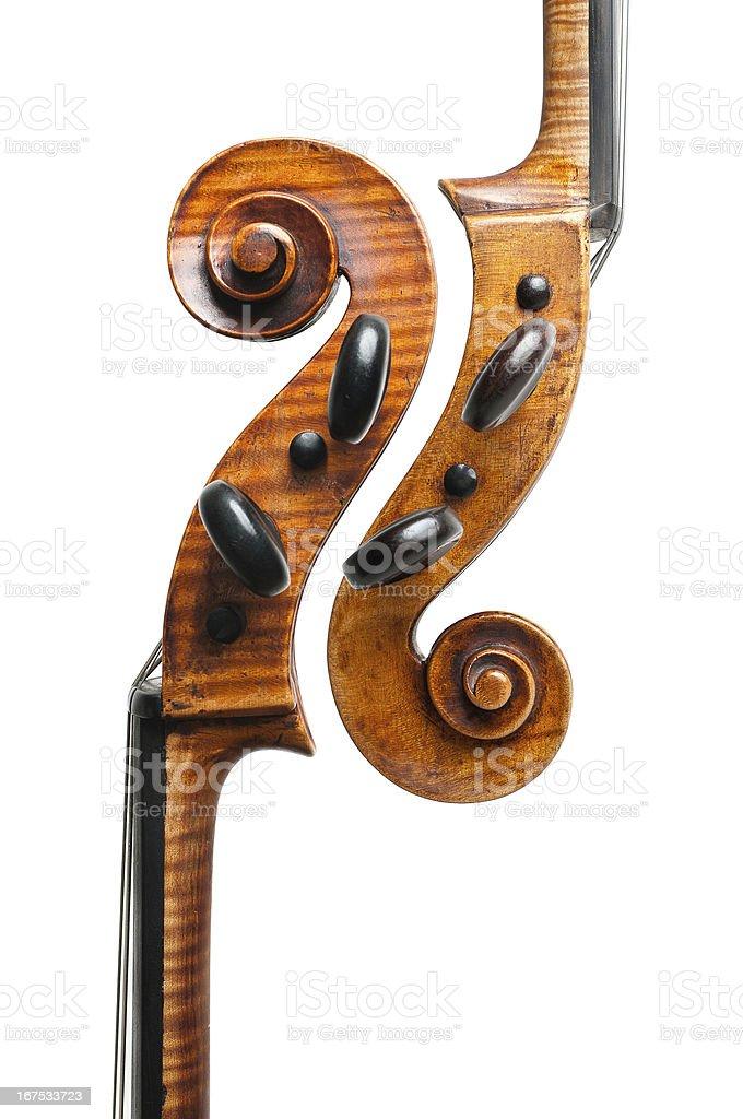 Two Cellos stock photo