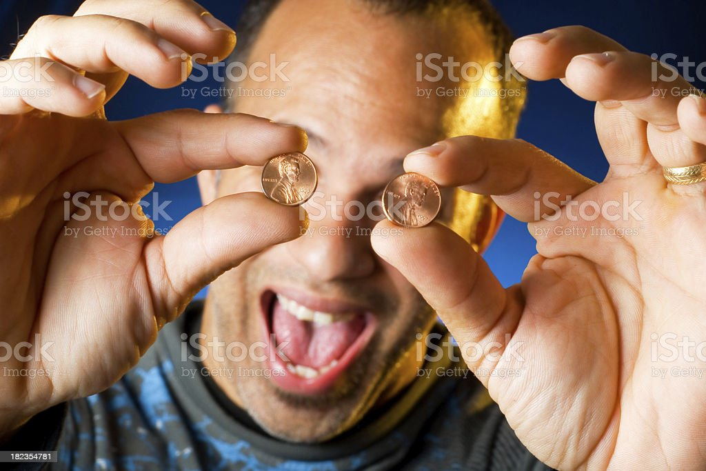 Two Cents stock photo