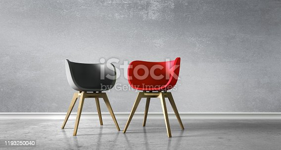 istock Two Chairs - Discussion 1193250040