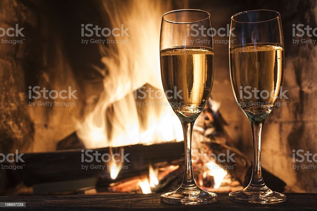 Gläser Champagner – Foto