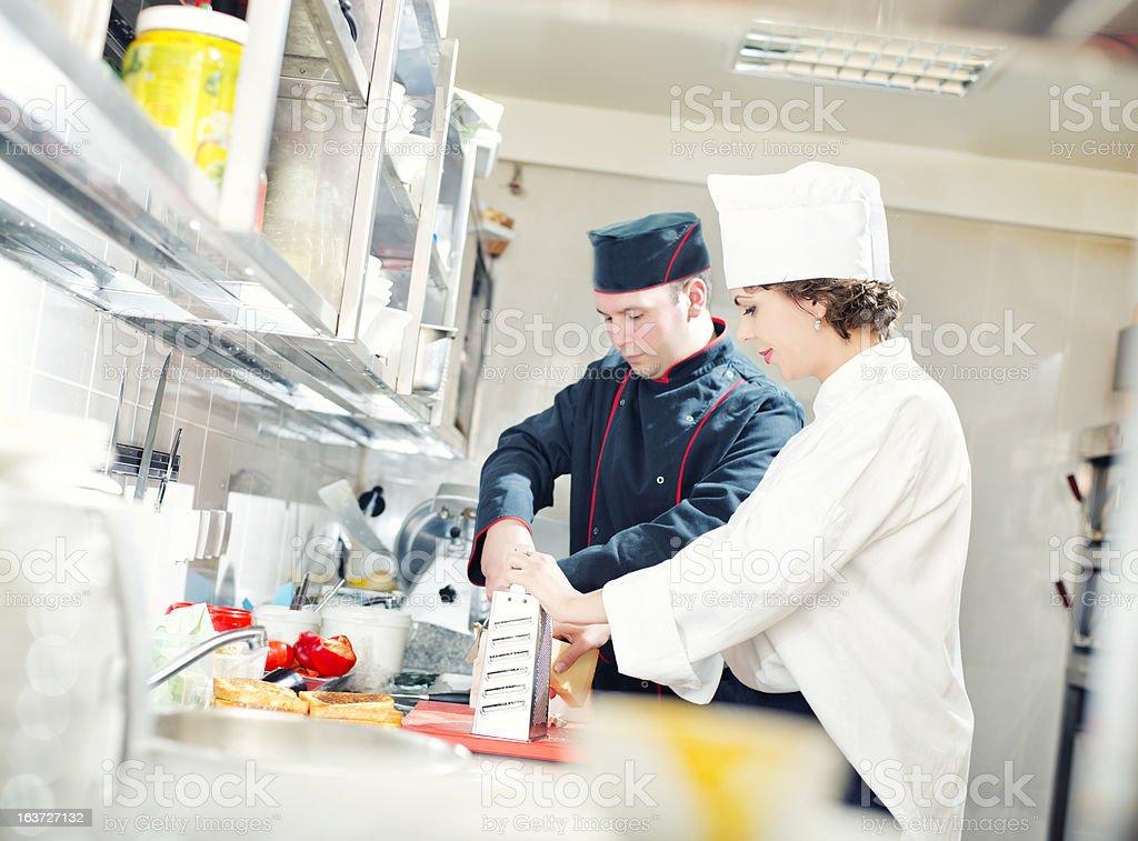 Deux chef cuisinier - Photo