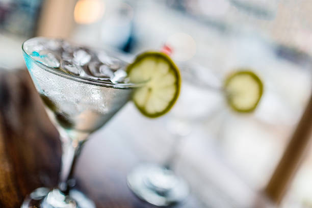 Two classic martinis - Photo