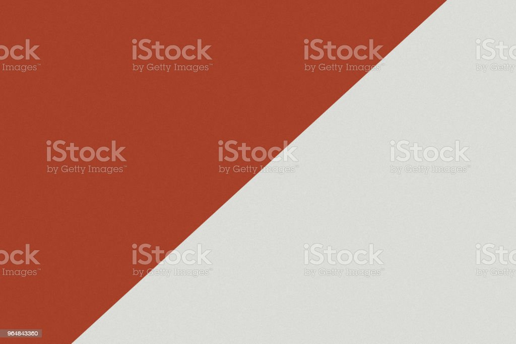 Two color paper with red and grey of the image. Background royalty-free stock photo