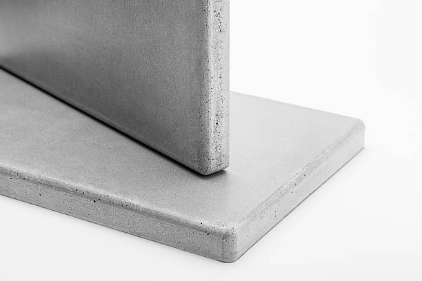 two concrete panel closeup - betonplatten stock-fotos und bilder