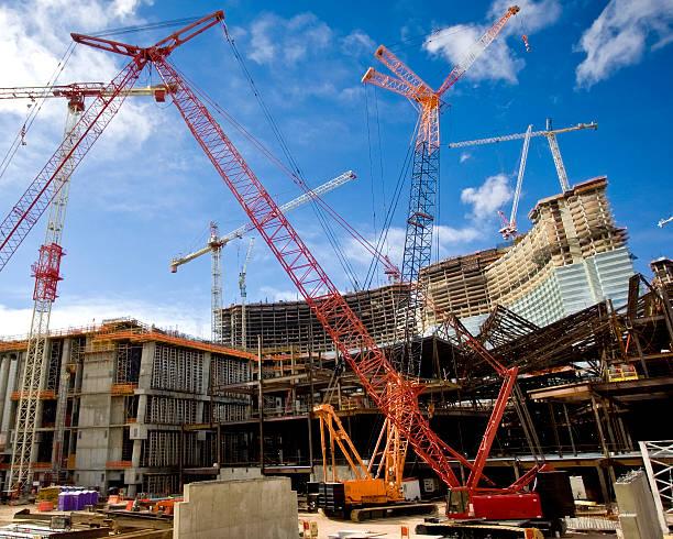 De Construction de grues - Photo