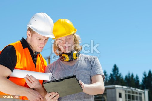 istock Two construction worker 450537043