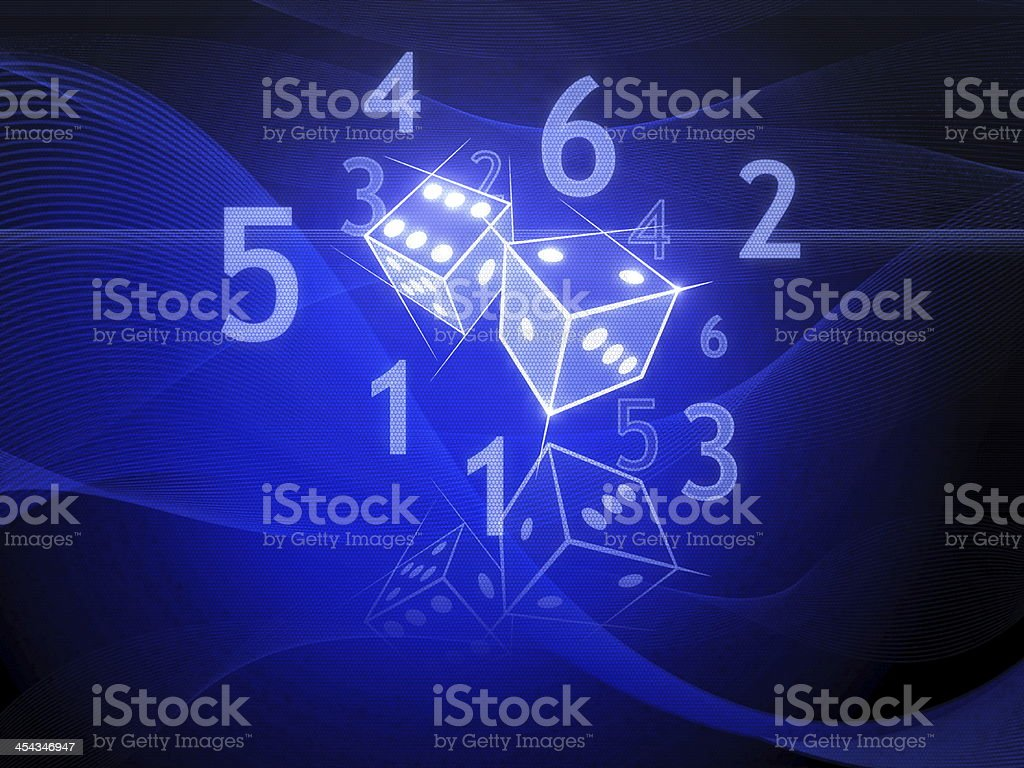 Two Dices royalty-free stock photo