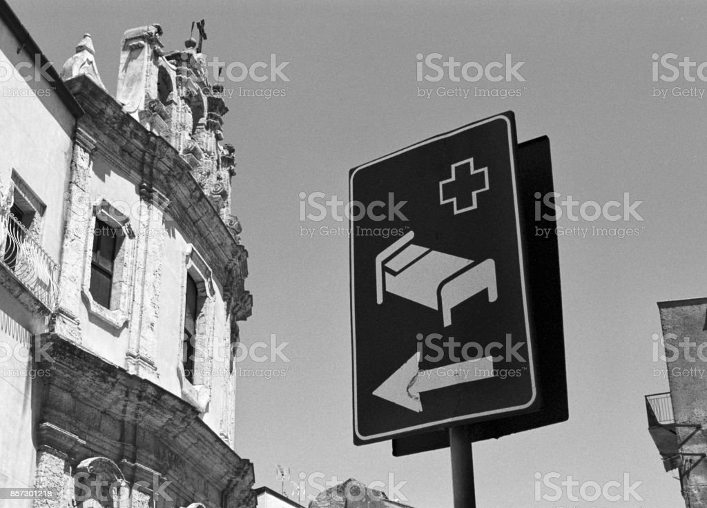 two different crosses stock photo