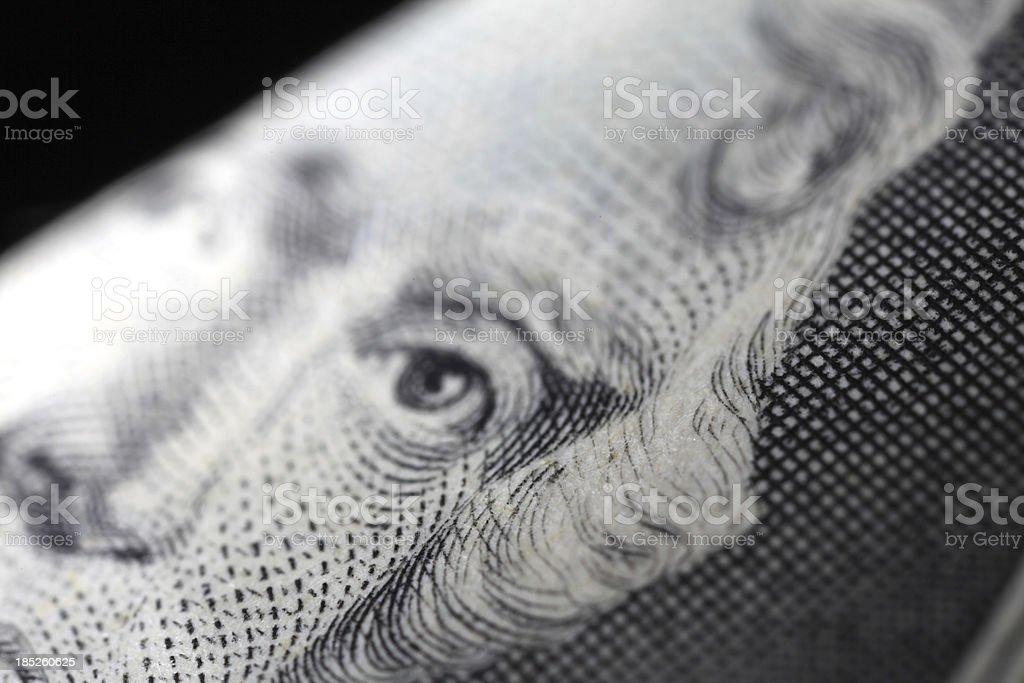 Two Dollar Macro stock photo