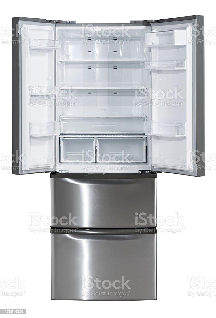Edelstahlkühlschrank Mit Zwei Türen Stock-Fotografie und mehr Bilder ...