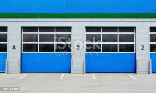 istock Two doors to choose 186745402