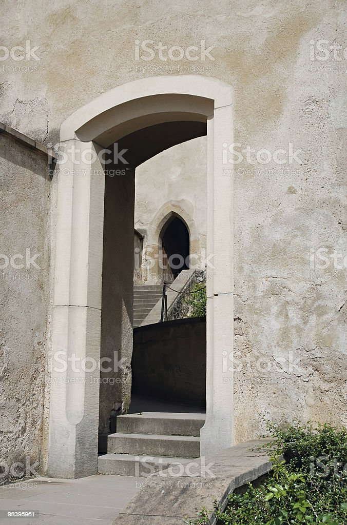 Two Doorways royalty-free stock photo