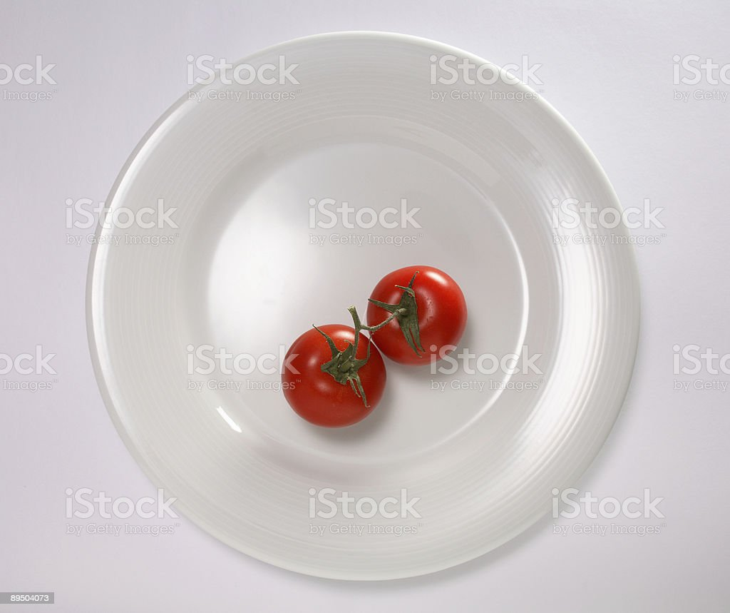 Dieta due punti foto stock royalty-free