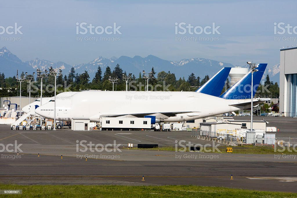 Two Dreamlifters Ready to Go royalty-free stock photo