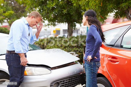 475395935istockphoto Two Drivers Arguing After Traffic Accident 475390513