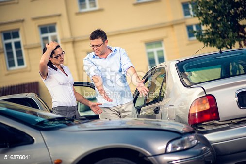 475395935istockphoto Two Drivers Arguing After Traffic Accident 516876041