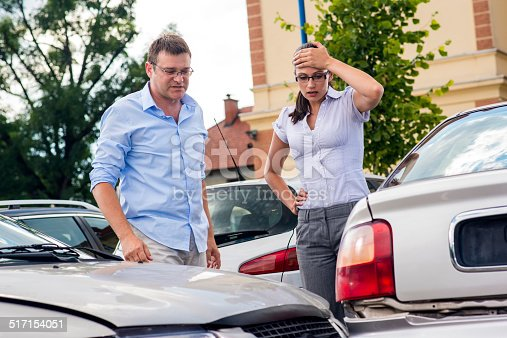 475395935istockphoto Two Drivers Arguing After Traffic Accident 517154051