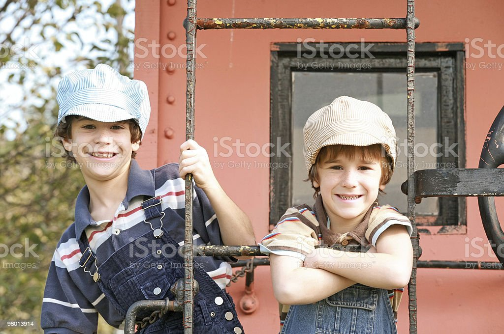Two Engineers royalty free stockfoto