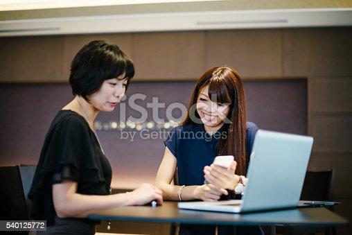 589445574istockphoto Two entrepreneur spirit women starting new business 540125772