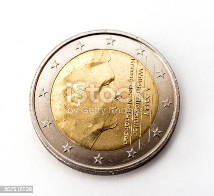 istock Two Euro coin the Netherlands 507918209