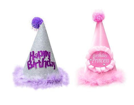 Two Fancy Furry Birthday Hats