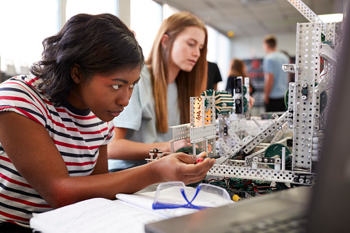stem education stock photos