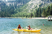 Sand Harbor, one of the  most popular and spectacular parks in the Tahoe Basin.