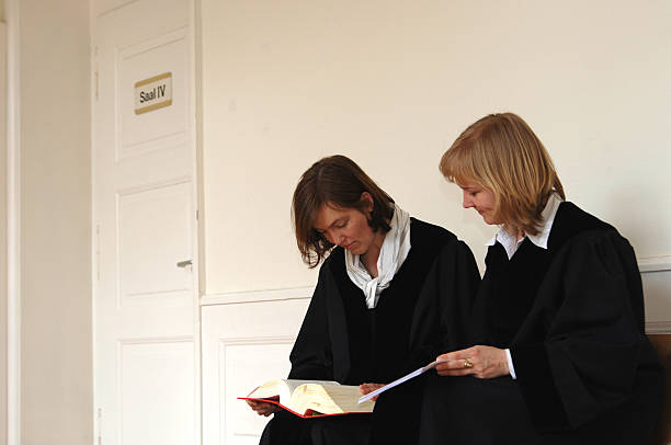 two female judges - judge sports official stock photos and pictures