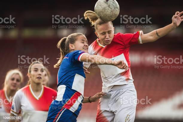 Two female soccer rivals heading the ball on a match picture id1098232152?b=1&k=6&m=1098232152&s=612x612&h=vrhd8q0jksnw d vpyxq6whn4gtvviuwilsjbsrz r8=