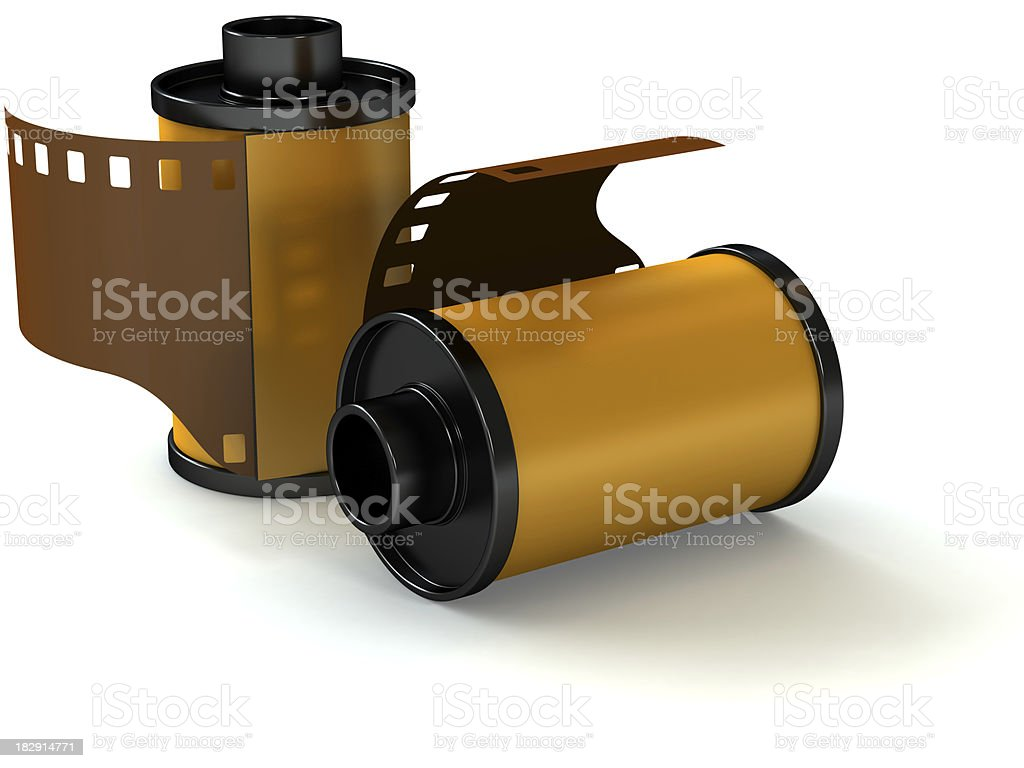 Two films royalty-free stock photo