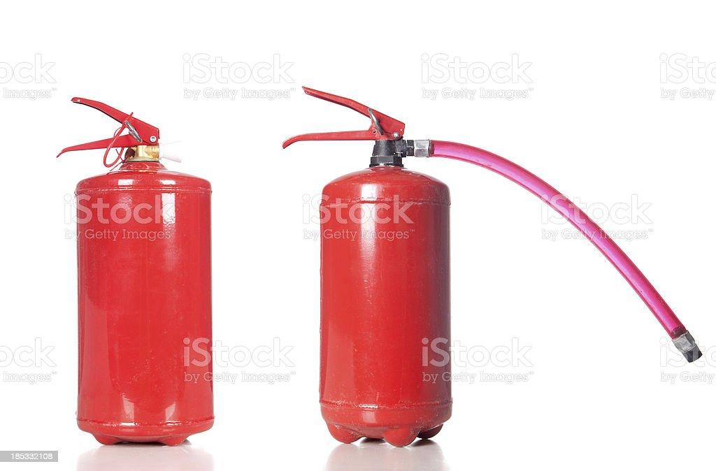 Zwei Feuerlöscher – Foto