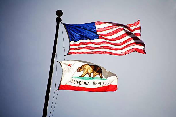 Dos banderas - foto de stock