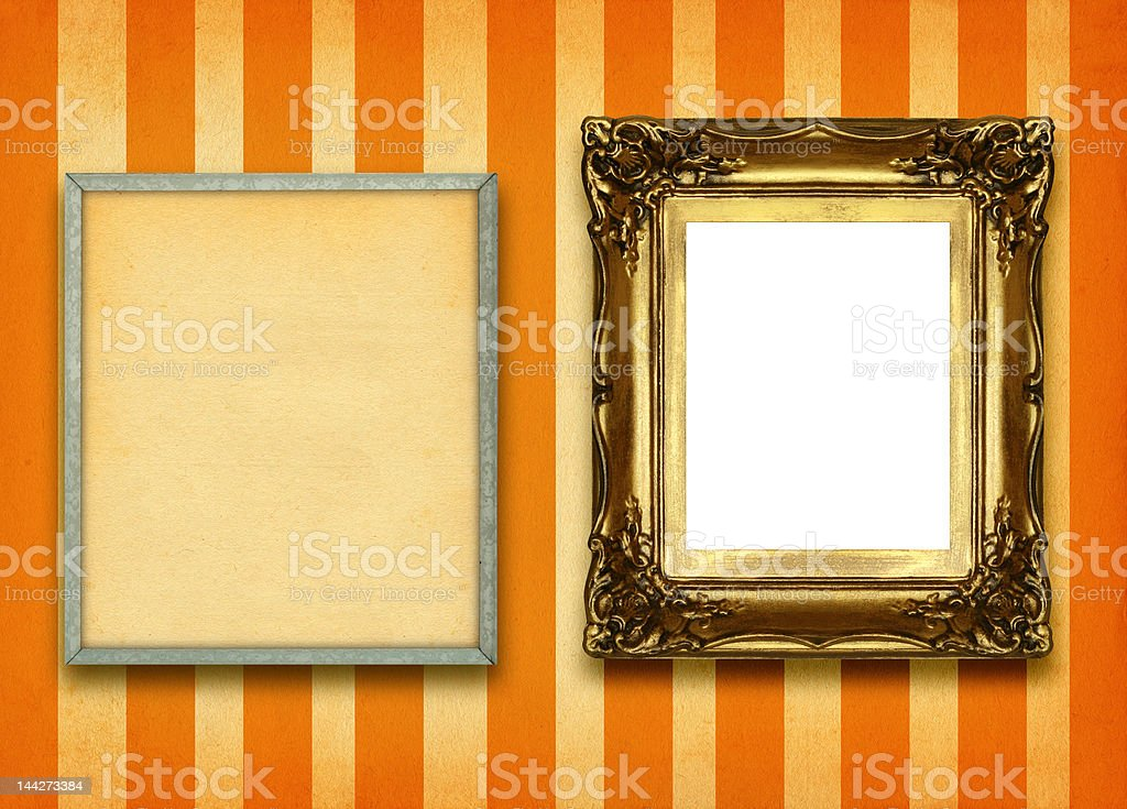 two frames royalty-free stock photo