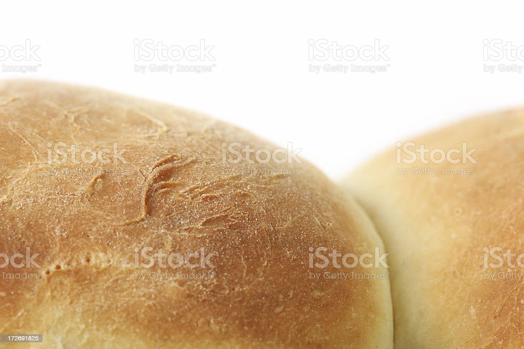 two fresh loafes royalty-free stock photo