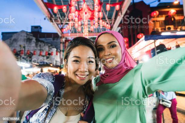 Two friends having selfie together at the market picture id959286884?b=1&k=6&m=959286884&s=612x612&h=j4bnla 9z9q8fh6uhyhhu4m57hrwxkqcmdng1stw0 e=