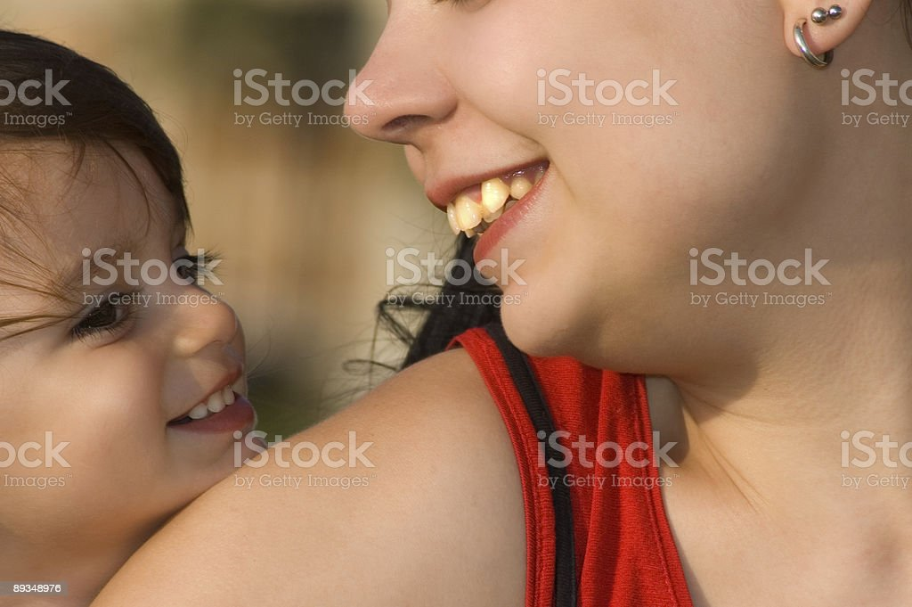 two generation royalty-free stock photo