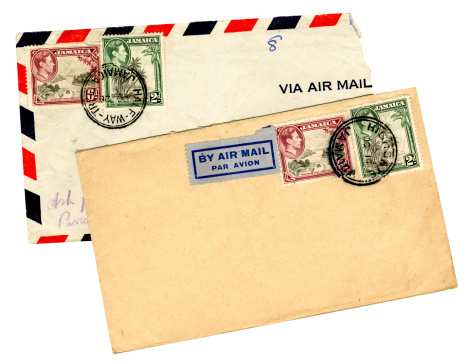 Two George VI envelopes from Jamaica