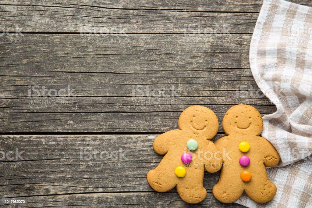 Two gingerbread men – zdjęcie