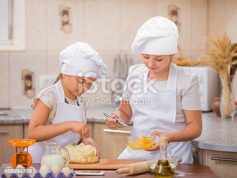 488109116istockphoto two girls cook 498994718